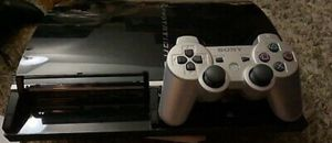 Sony PlayStation 3 60GB Backwards Compatible - PS1,PS2,PS3 Plays All 3 In 1 for Sale in Mingo Junction, OH