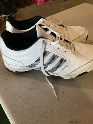 Men's Adidas Golf Shoes Size 8.5 for Sale in Normal, IL