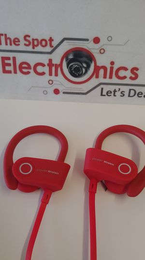 G-5 Power 3 Red Bluetooth Headset's for Sale in Oklahoma City, OK