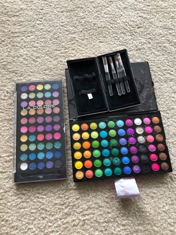 Makeup Collection & Brushes L.A. Collection