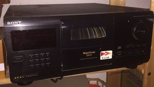 200 disk Sony CD player for Sale in Camas, WA