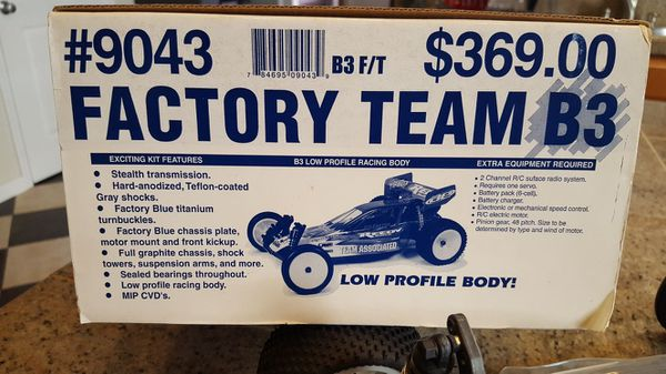 No trades! VINTAGE RC10B3 NEW for Sale in Brentwood, CA - OfferUp