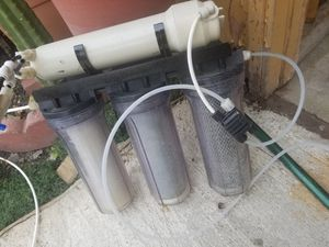 4 Stage Reverse osmosis water filter for your saltwater aquarium for Sale in San Lorenzo, CA