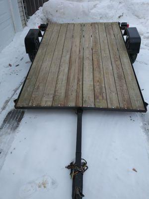 5x8 tilt bed utility trailer for Sale in Waite Park, MN