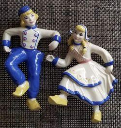Vintage Ceramic Arts Studio Dutch Boy And Girl for Sale in Deerfield Beach,  FL