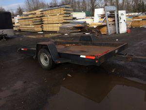 Equipment trailer tilts for Sale in Portland, OR