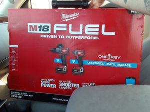 Milwaukee M18 fuel for Sale in Oakland, CA