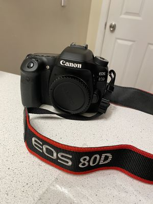 canon 80d for Sale in Oakland, CA