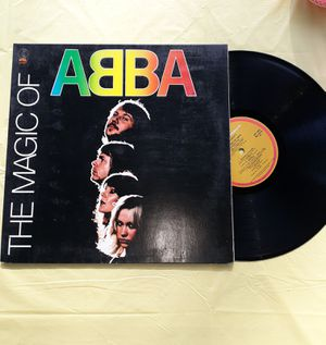 Used, Vinyl Record ~The Magic of Abba K-TEL ABBA GREATEST HITS LP ALBUM for Sale for sale  Tacoma, WA