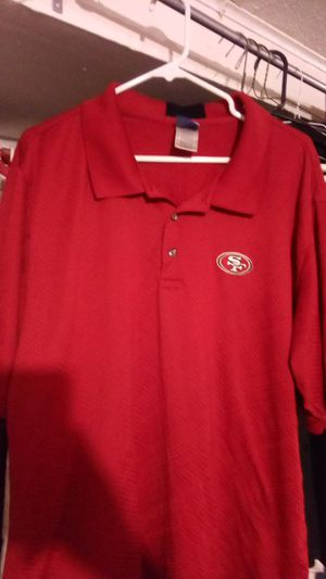 49er golf polo shirt extra large Reebok for Sale in San Francisco, CA