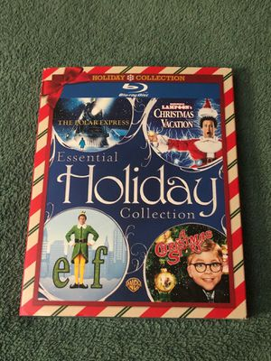 4-MOVIE HOLIDAY COLLECTION BLU-RAY SEALED for Sale in Indian Head Park, IL