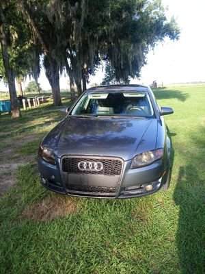 2006 audi A4. Car has 127,000 miles ice cold AC, new tires. Asking price 3,500 for Sale in Fort Meade, FL