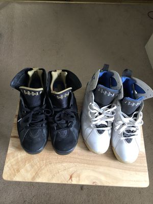 "Air Jordan 7s ""Mavericks"" & ""Black and Gold for Sale in West Palm Beach, FL"