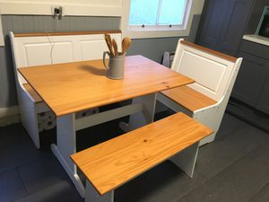 Breakfast Table with 3 benches for Sale in Oakland, CA