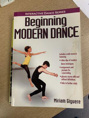 Beginning modern Dance book for Sale in Long Beach, CA