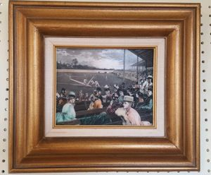 """1888 Etched Resin """"A Collegiate Game Of Baseball"""" W.P. Snyder Framed painting for Sale in Alexandria, VA"""