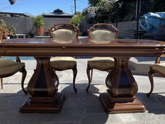 7 Piece Wood Dining Set From Spain 🇪🇸 for Sale in La Mirada,  CA