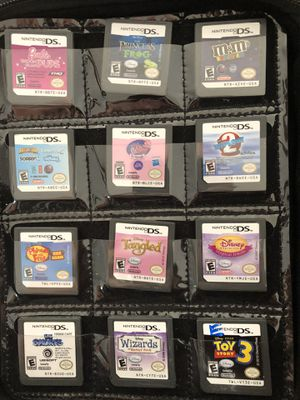 Assorted wii, wiiu and ds games for Sale in Jackson Township, NJ