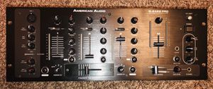 American Audio Q2422 pro 19 in 3 channel D.J. mixer with auxiliary input. for Sale in Sacramento, CA