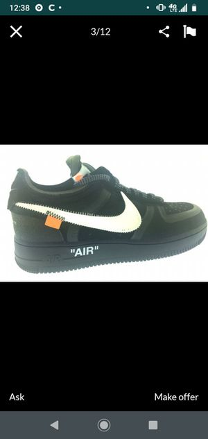 Nike Air Off Whites Catus for Sale in Los Angeles, CA