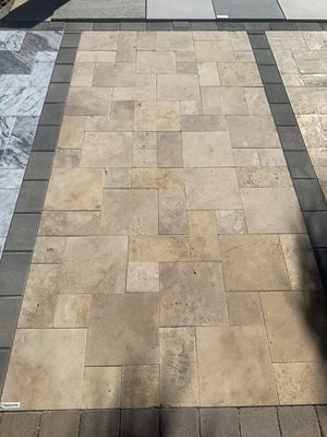 Cappuccino Travertine Pavers 3.09 sq for - Pavers & Much More! for Sale in Phoenix, AZ