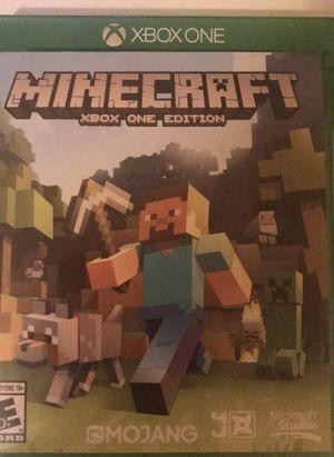 Minecraft Xbox one edition for Sale in Visalia, CA