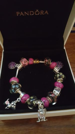 Pandora bracelet with charms ( puppy love) for Sale in Midland, NC
