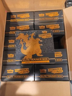 Pokemon Champions pack elite trainer boxes for Sale in Los Angeles, CA