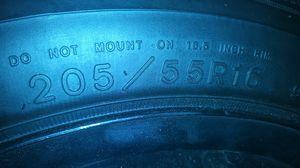 205 55 16 Goodyear RSA on the newer VW 5 lug bolt pattern rim for Sale in Avon Park, FL