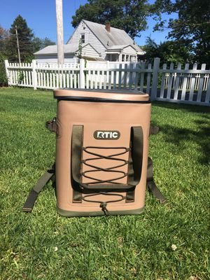 Rtic back pack cooler. New without tags for Sale in Tewksbury, MA