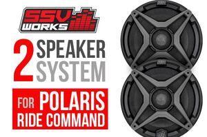 NEW SSV Works 2 Speaker System for RZR for Sale in Peoria, AZ