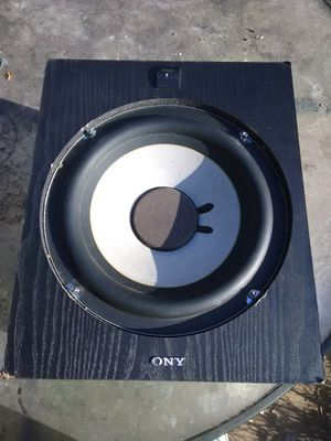 "150 watts Sony 8"" subwoofer for Sale in Washington, DC"
