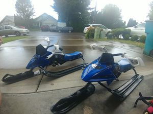 Snowmobile toy sleds for Sale in Vancouver, WA