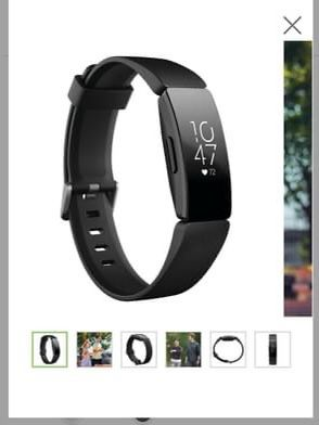 Fitbit Inspire HR Fitness Tracker with Heart Rate for Sale in Germantown, MD