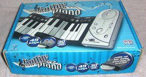ROLLIN' PIANO * 49-KEY * ROLL UP KEYBOARD for Sale in Las Vegas, NV