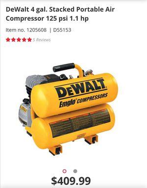 DeWalt air compressor for Sale in Anderson, SC
