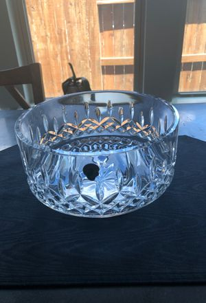 """Waterford Lismore 8"""" footed bowl. Retail $170 for Sale in Katy, TX"""
