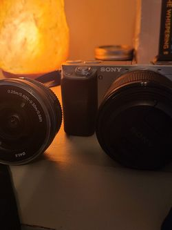 Sony A6000 Photography Kit W/ 2 Lenses for Sale in West Chester,  PA
