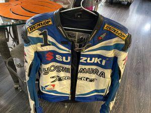 Suzuki motorcycle jacket for Sale in Mountlake Terrace, WA