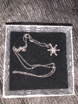 Frozen Disney necklace sterling silver for Sale in San Antonio, TX