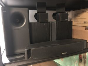 Bose Acoustimass 5 series 2 surround sound system for Sale in Sanger, CA