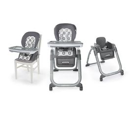 Ingenuity SmartServe 4-in-1 High Chair with Swing Out Tray–Clayton–Booster.New. for Sale in Deer Park,  IL