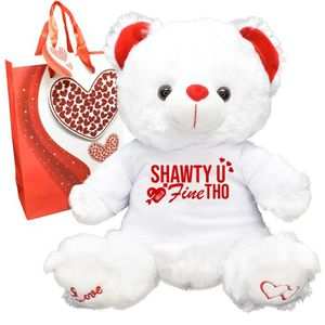 Shawty U Fine Tho Valentines Day Teddy Bear for Sale in Redlands, CA