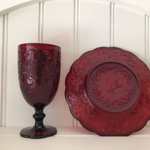 Luncheon Plates And Goblets for Sale in Lake Worth, FL