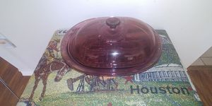 Vintage Vision Corning Ware 4 Quart Ribbed Casserole Baking Dish V-34-B. for Sale in Georgetown, TX