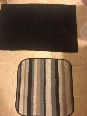 2 bathroom rugs both $5 for Sale in Vienna, VA