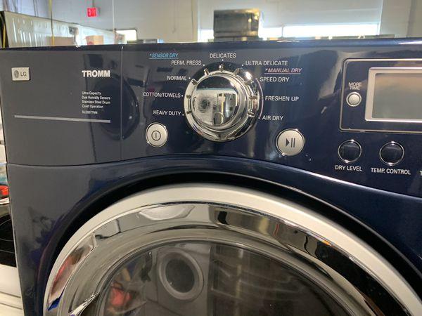 Electric dryer on pedastool
