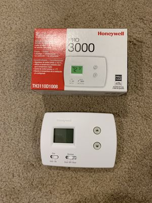Honeywell pro 3000 thermostat for Sale in Winchester, MA