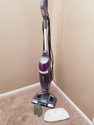 Mop and Steam Vacuum Cleaner for Hardwood and Tile Floors, with Microfiber Mop Pads for Sale in Las Vegas, NV