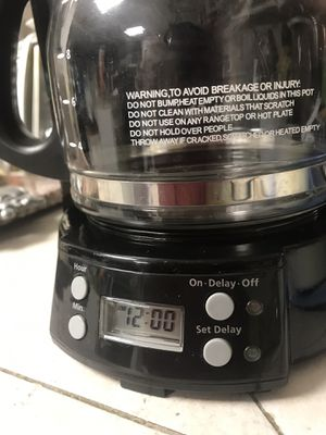 Mr Cofee Maker 12 cup , programmable coffee maker for Sale in Miami, FL